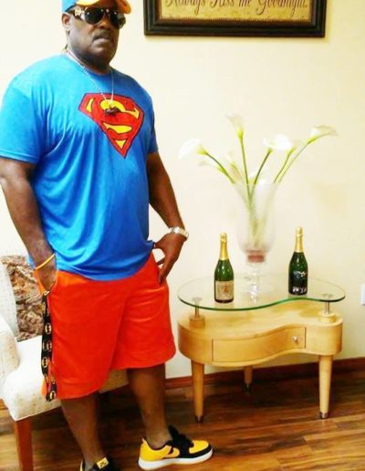 tbc darrell superman outfit